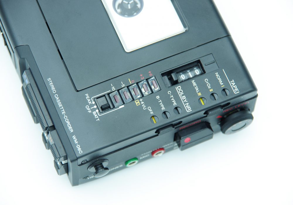索尼 SONY WM-D6C 磁带随身听