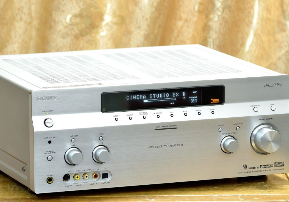 索尼 SONY TA-DA3200ES 7.1 AV功放