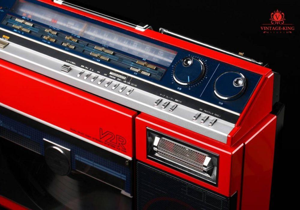 SHARP VZ-V2R 收音/磁带/黑胶唱机 一体机