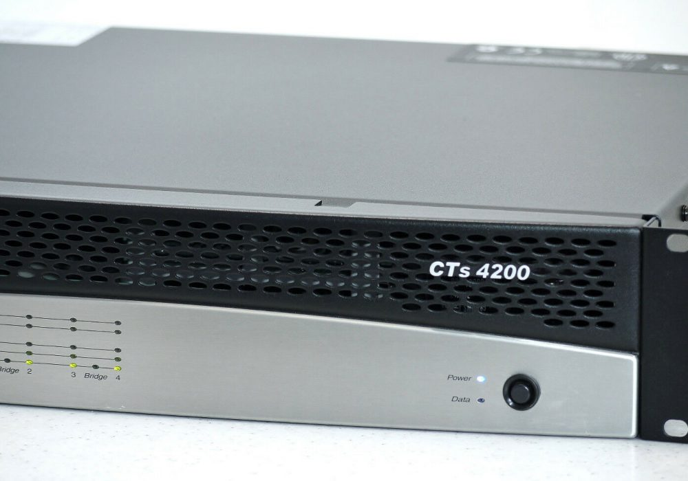 CROWN CTS 4200 专业级功率放大器