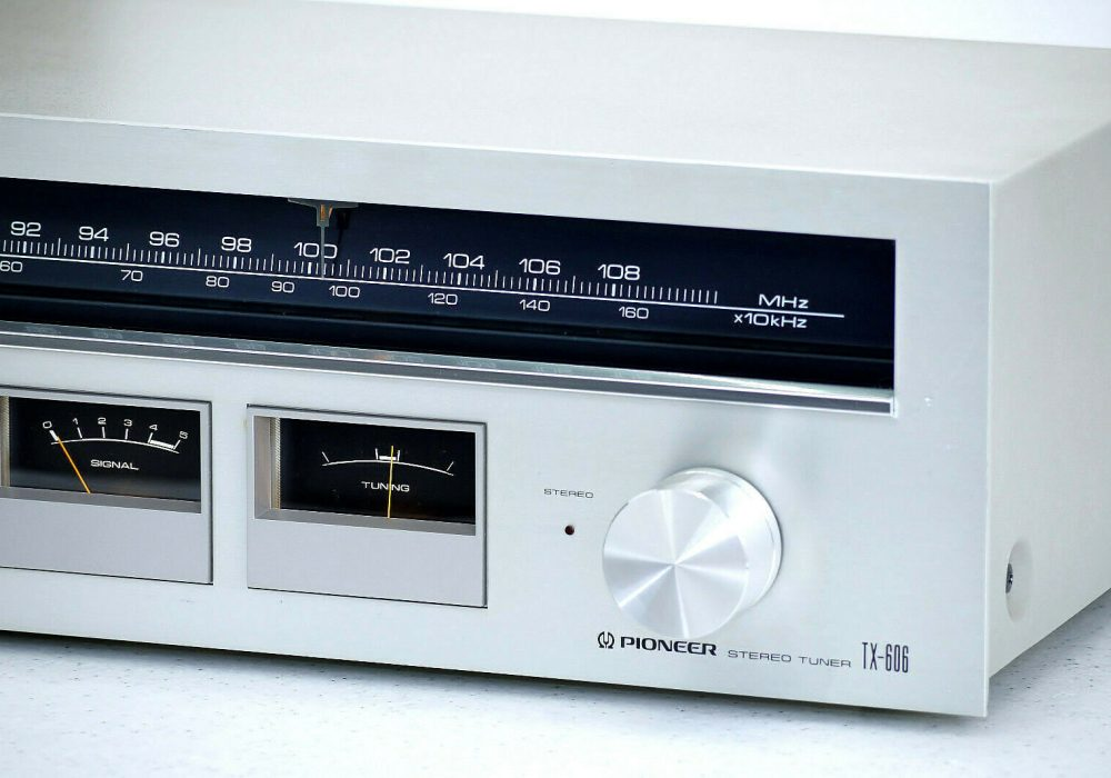 PIONEER TX-606 AM/FM Tuner 收音头