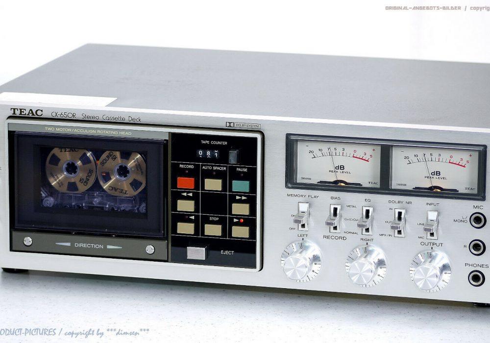 TEAC CX-650R 磁带卡座