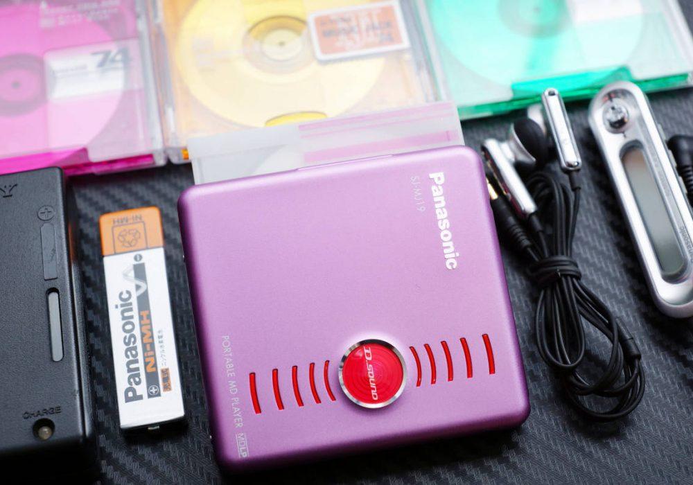 Panasonic SJ-MJ19 MD随身听