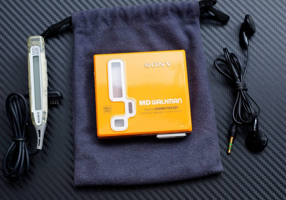 索尼 SONY MZ-E77 MD WALKMAN MD随身听