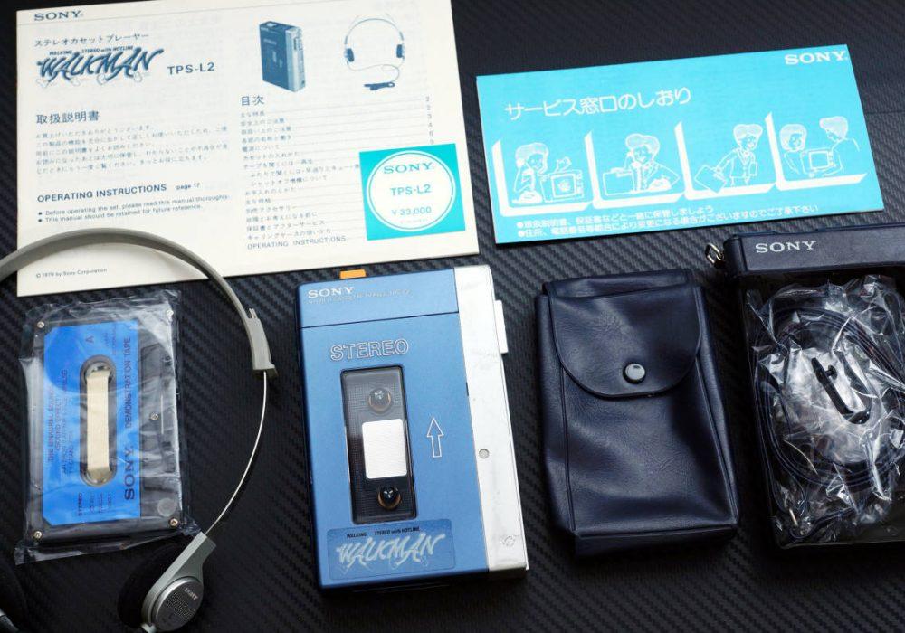 索尼 SONY TPS-L2 WALKMAN 初代 磁带随身听