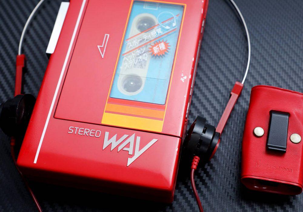 National WAY MODEL NO.RQ-J9 磁带随身听