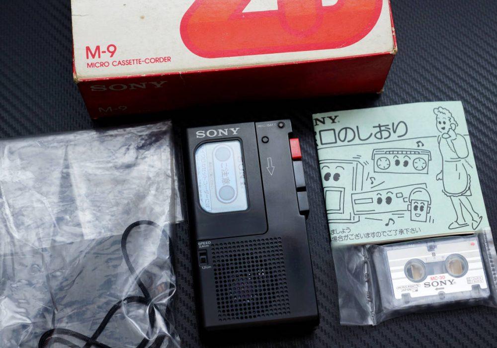 SONY M-9 微型磁带录音机
