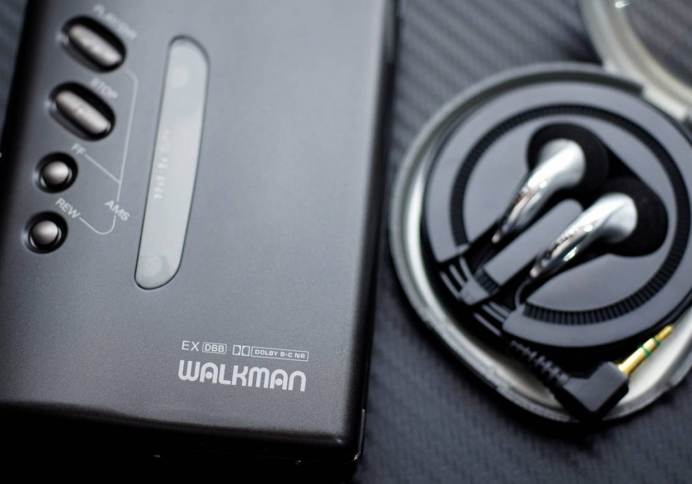 索尼 SONY WM-DX100 WALKMAN 磁带随身听