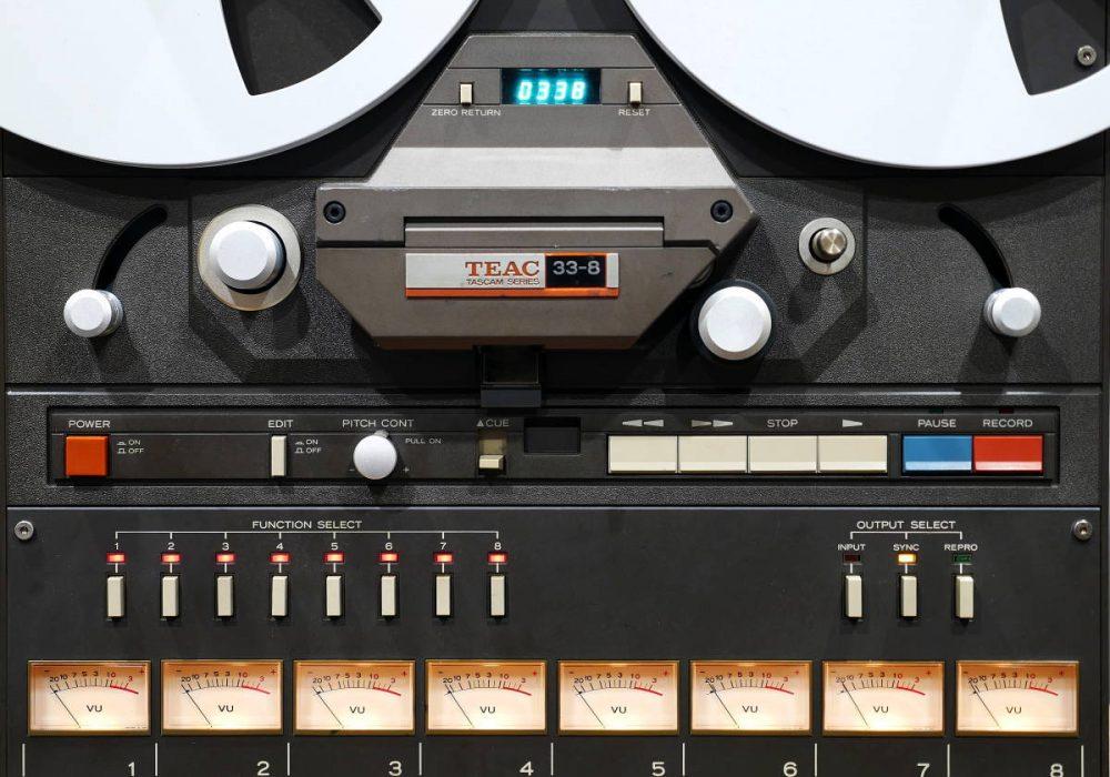TEAC 33-8 开盘机