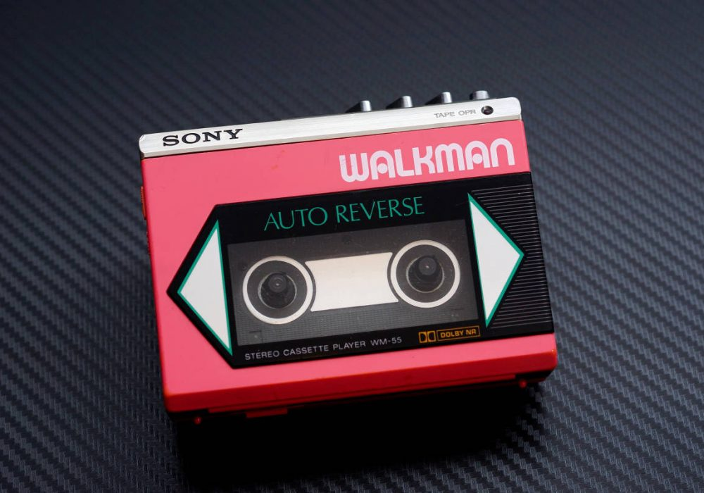 SONY WM-55 WALKMAN 磁带随身听