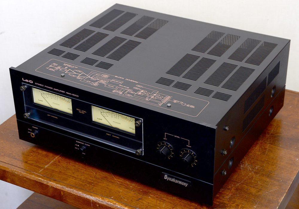 Lo-D HMA-8300 后级功率放大器