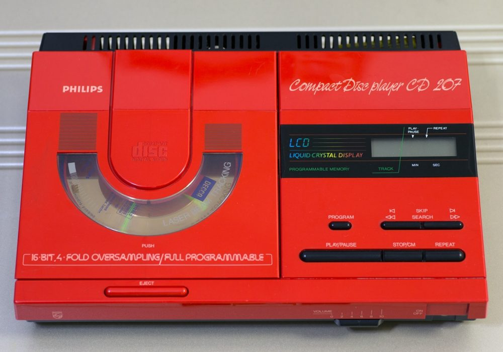 飞利浦 Philips CD207 便携式CD播放机