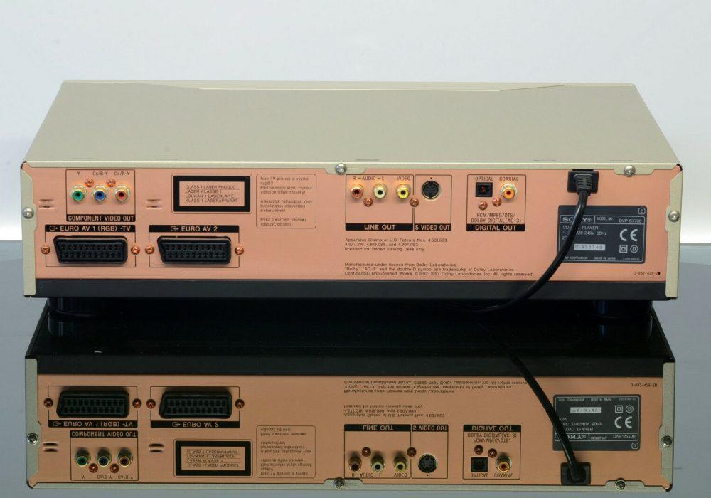 索尼 SONY DVP-S7700 CD/DVD播放机
