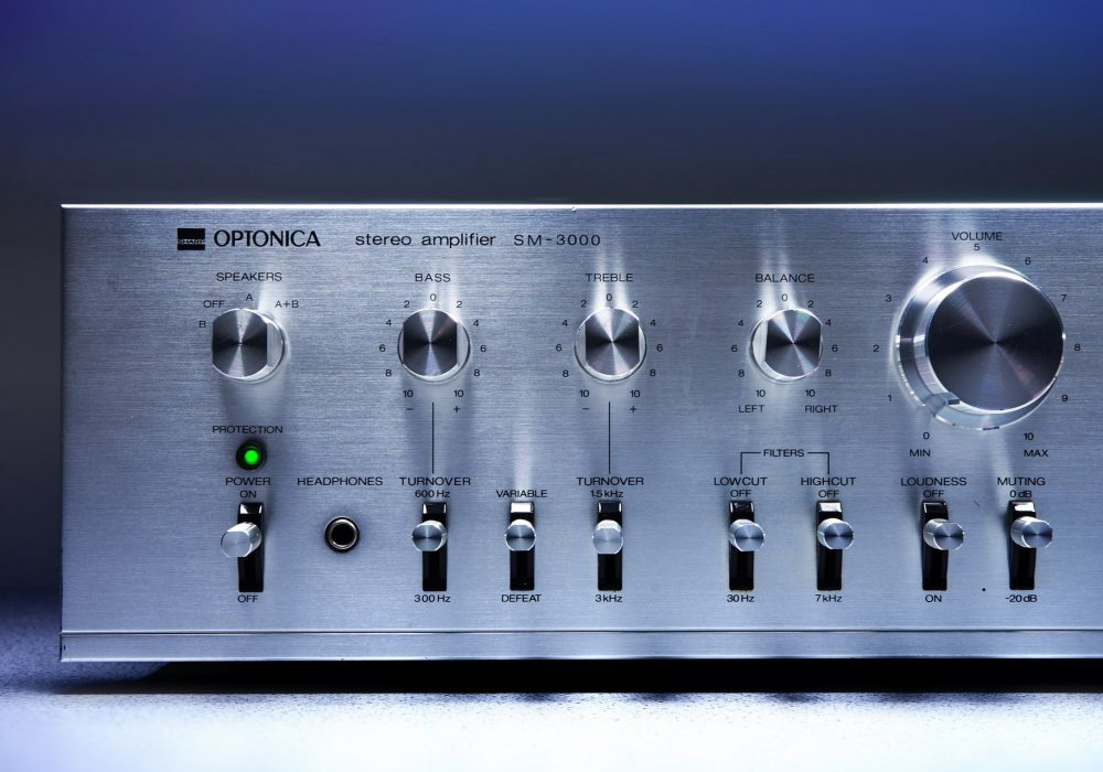 SHARP Optonica SM-3000 功率放大器