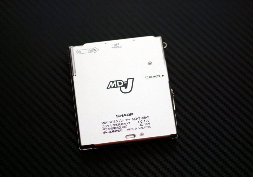 SHARP MD-ST55-S MD随身听