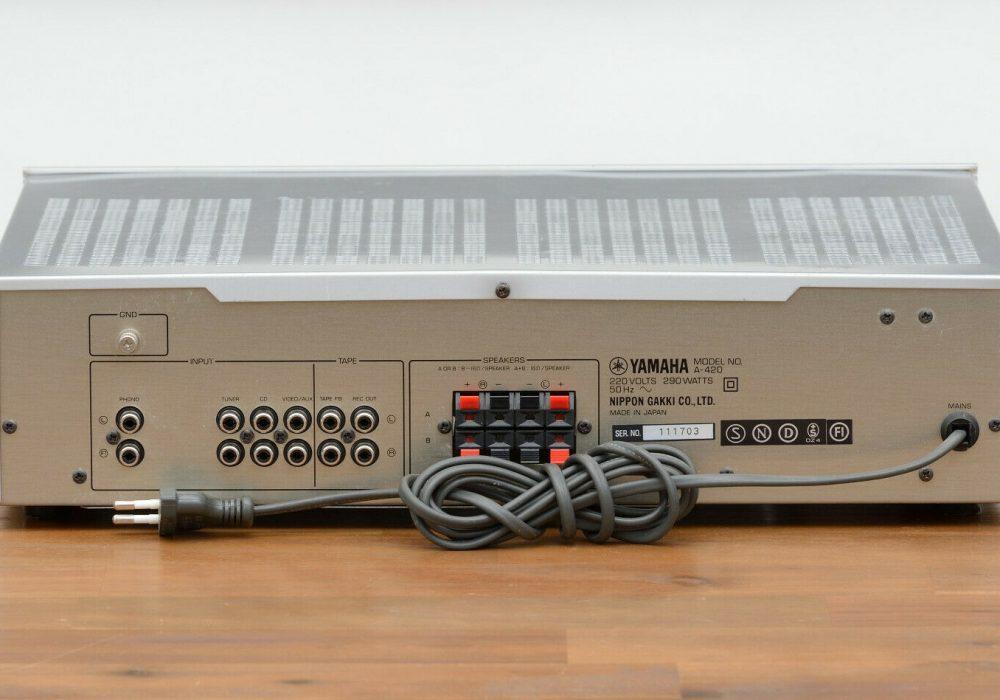 雅马哈 YAMAHA A-420 功率放大器