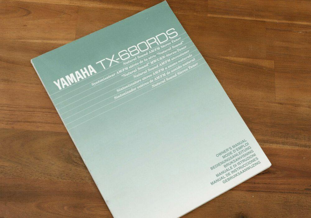 YAMAHA TX-680RDS FM/AM Tuner 收音头