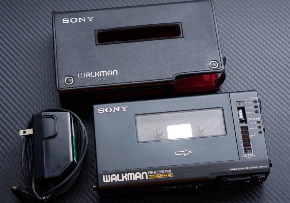 SONY WM-D6C WALKMAN 磁带随身听