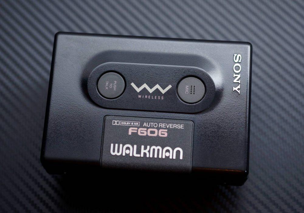SONY WM-F606 WALKMAN 磁带随身听