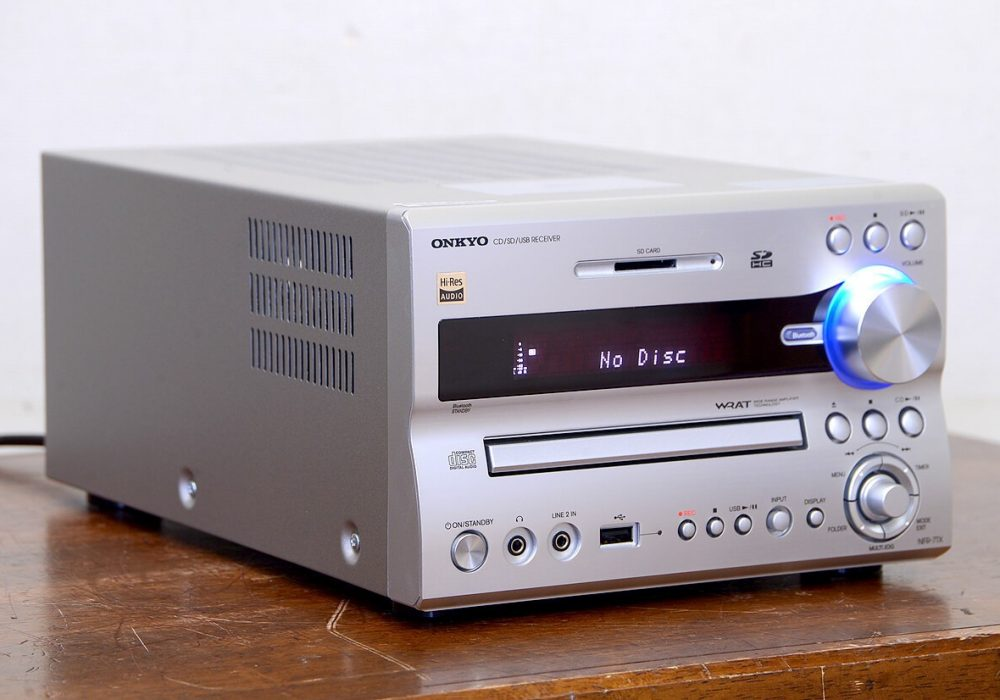 ONKYO X-NFR7TX CD/SD/Bluetooth/USB 桌面音响主机