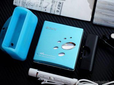 SONY MZ-E520 MD WALKMAN MD随身听