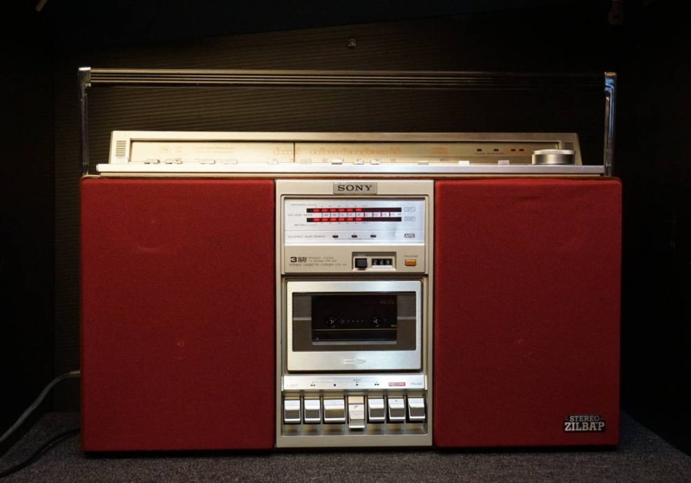SONY CFS-V8 收录机