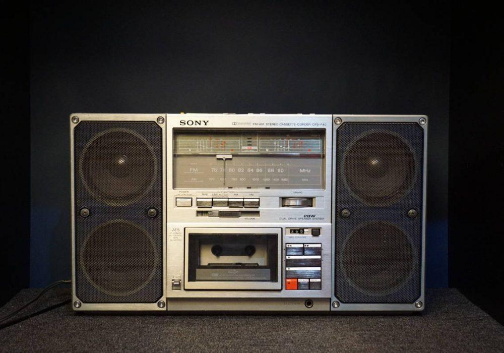 SONY CFS-F40 收录机