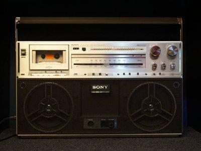 SONY CFS-F5 收录机