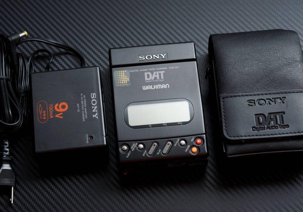 SONY TCD-D3 DAT随身听
