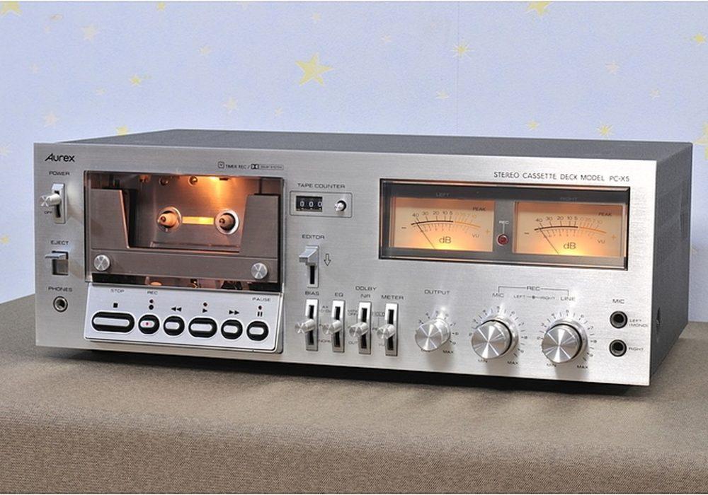 Aurex PC-X5 卡座