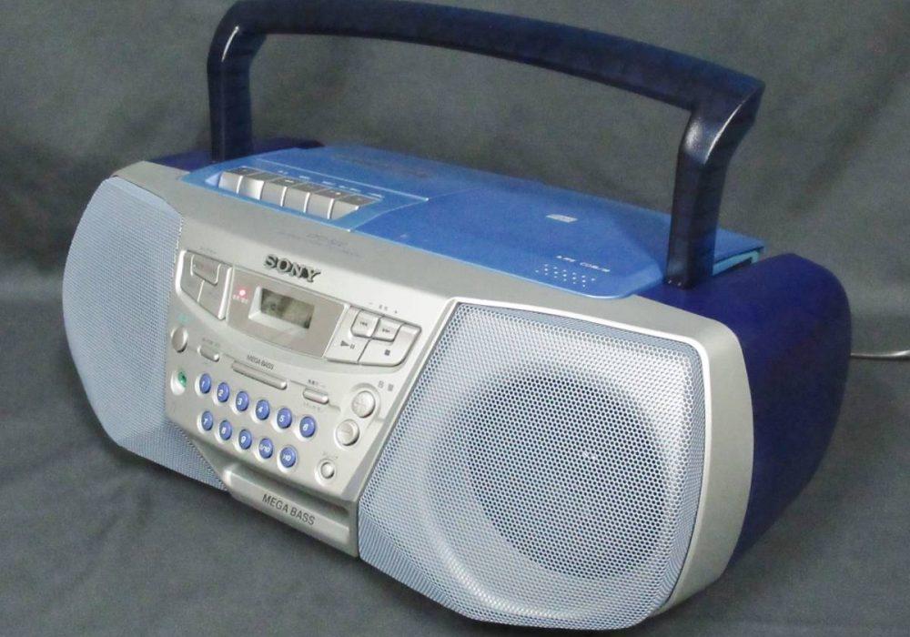 SONY CFD-S22 CD/磁带 收录机