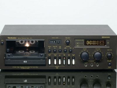 Technics RS-673 卡座