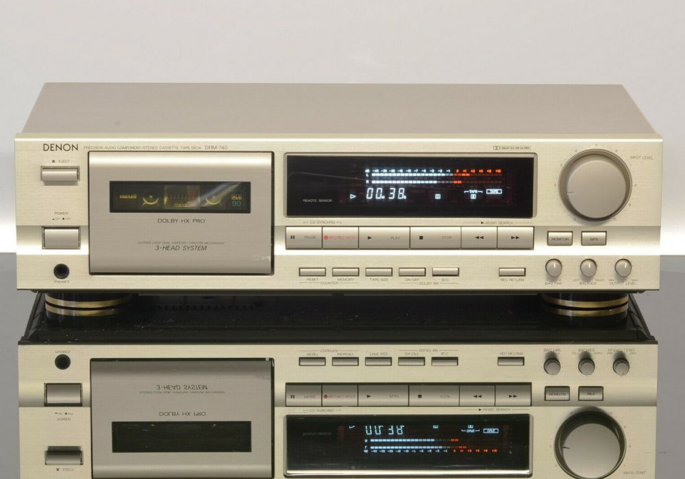 DENON DRM-740 卡座