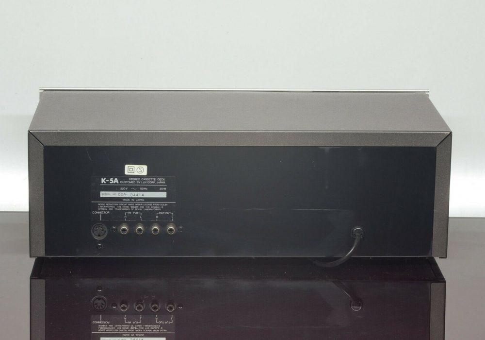 LUXMAN K-5A 磁带卡座