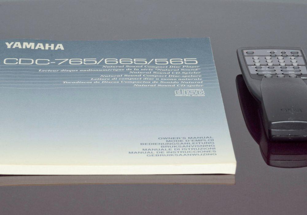 雅马哈 YAMAHA CDC-665 CD播放机