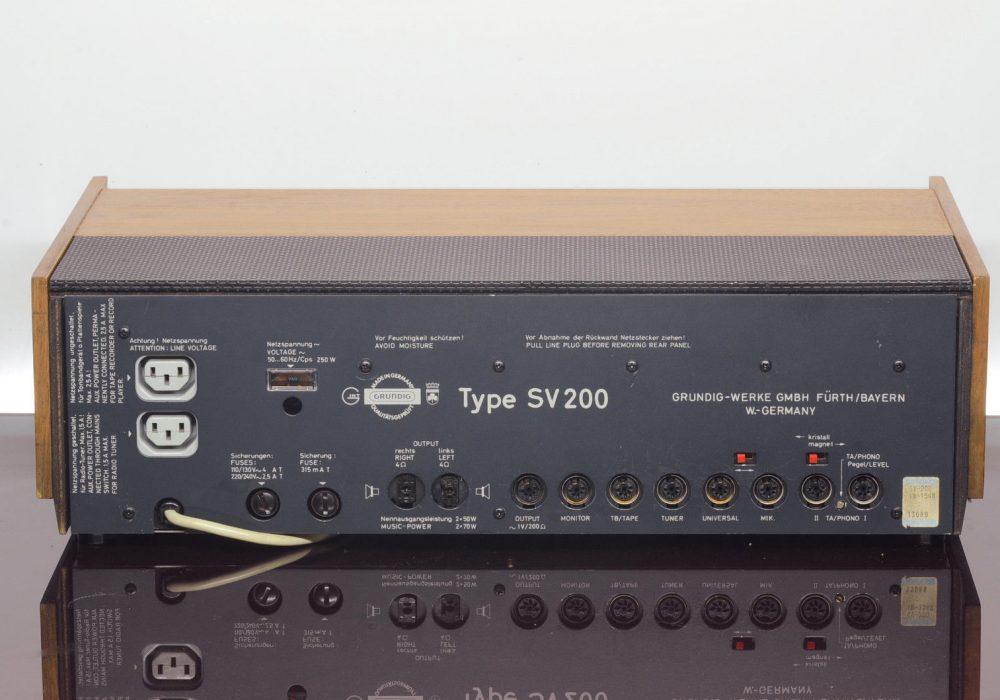 Grundig SV-200 功率放大器
