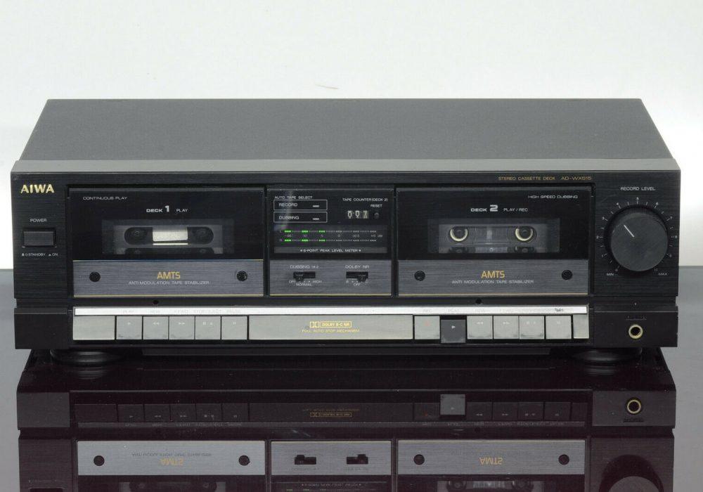 爱华 AIWA AD-WX515 磁带双卡座