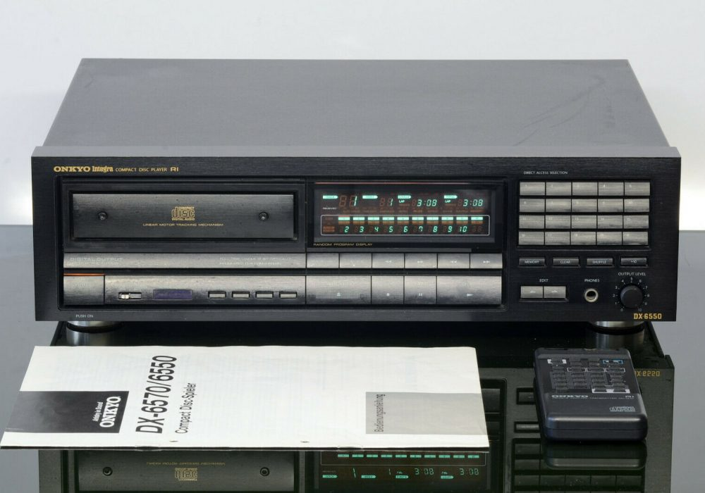 ONKYO Integra DX-6550 CD播放机