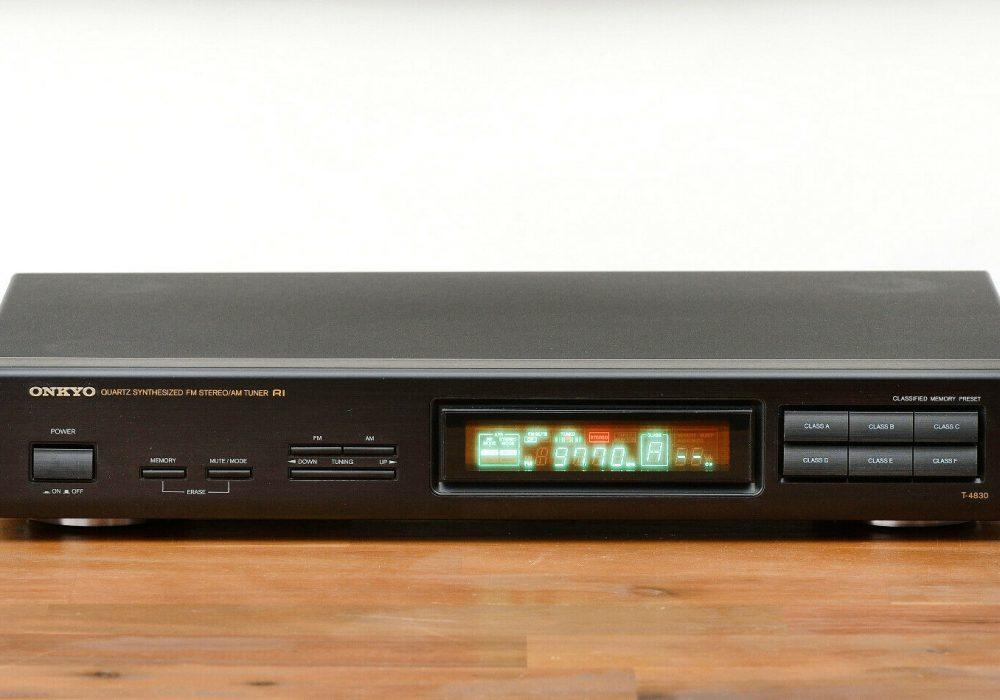 ONKYO T-4830 FM/AM Tuner 收音头