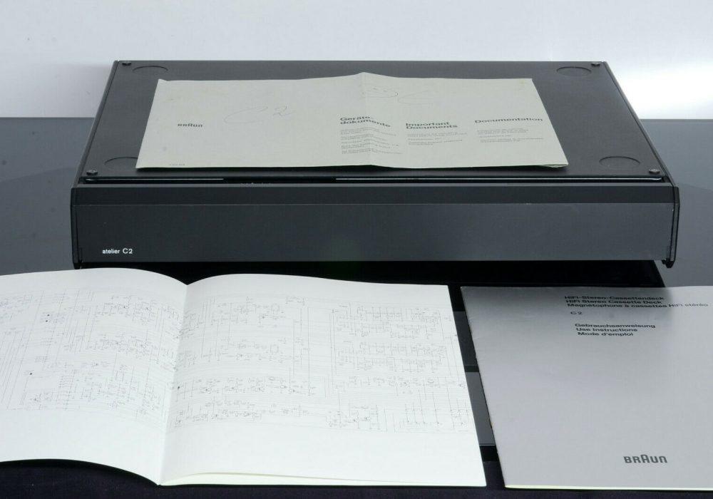 Braun Atelier C2 磁带卡座