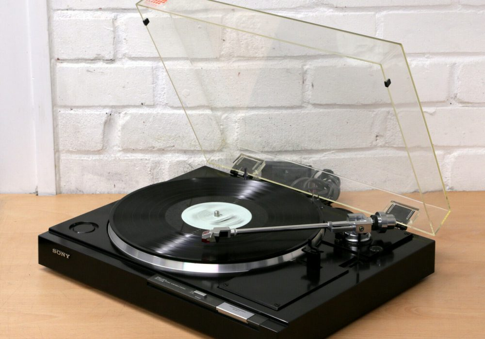 索尼 SONY PS-LX22B 黑胶唱机