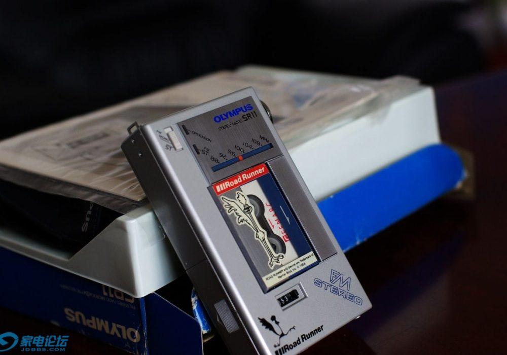奥林巴斯 OLYMPUS SR11 微型磁带随身听