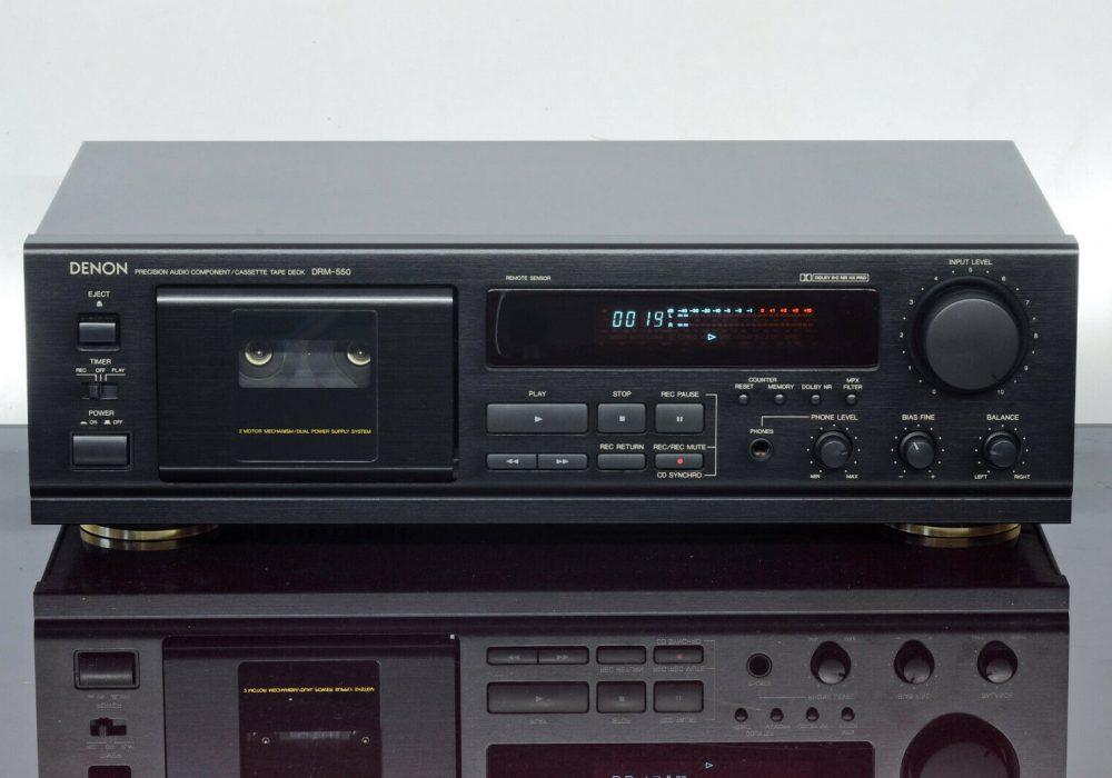 DENON DRM-550 磁带卡座