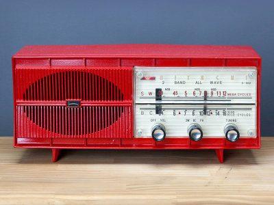 日立 HITACHI S-552 AM/SW 电子管收音机