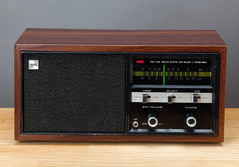 TOSHIBA RH-502F AM/FM 收音机