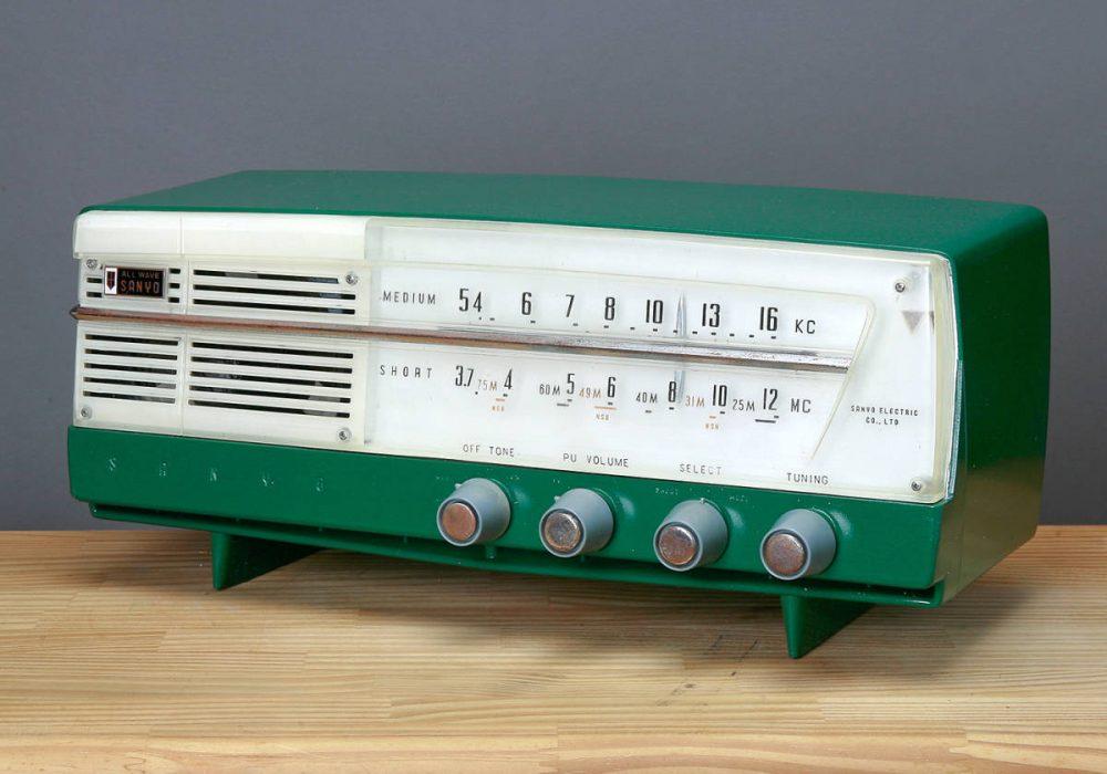 SANYO SF-37 2BAND AM/SW 电子管收音机