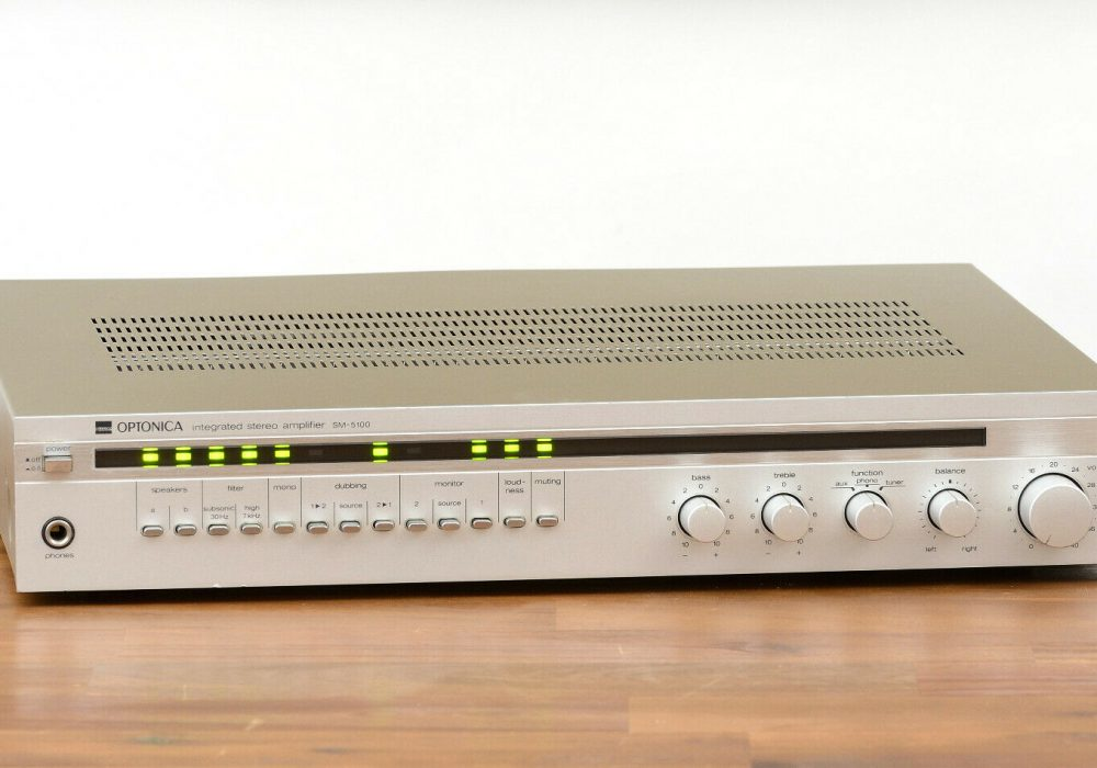SHARP OPTONICA SM-5100 功率放大器