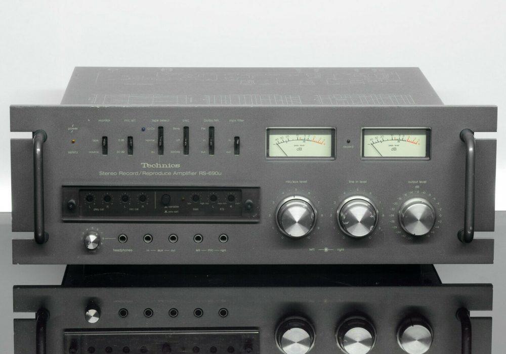 Technics RS-690U 功率放大器