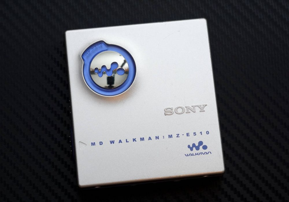 SONY MZ-E510 MD WALKMAN MD随身听
