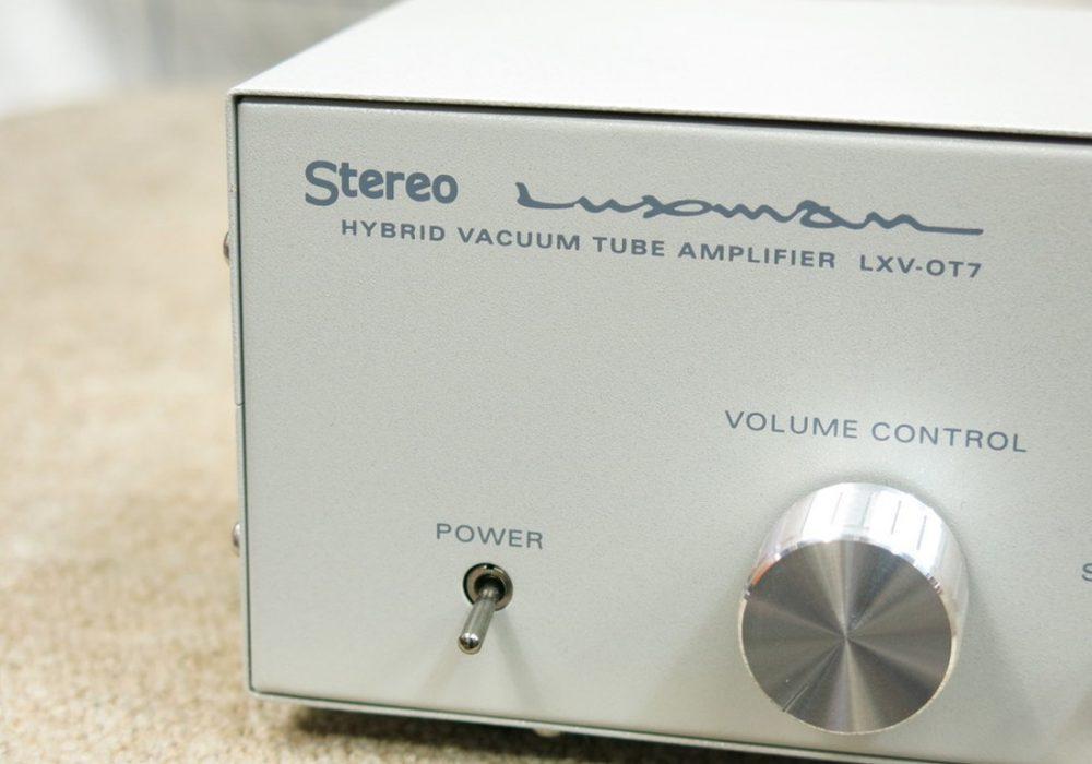 LUXMAN LXV-OT7 电子管功放